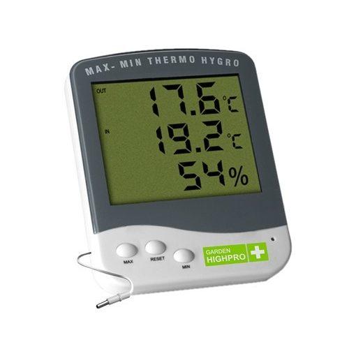 Garden High Pro Premium hő- és páratartalom mérő