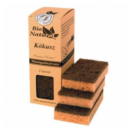Bio kókuszszivacs csomag 6db