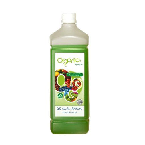 Organic green gold élő algás tápoldat 1L